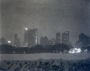 Sheep Meadow Snow Storm, NYC